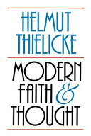 Modern Faith and Thought