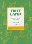 First Latin: A Language Discovery Program Student Activity