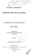 The General Assembly's Missionary Magazine