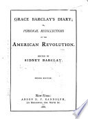 Grace Barclay's Diary