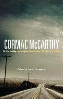 Cormac McCarthy [Pdf/ePub] eBook