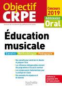 Pdf Objectif CRPE Éducation musicale 2019 Telecharger