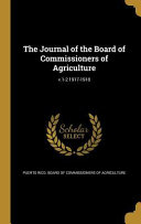 Journal Of The Board Of Commis