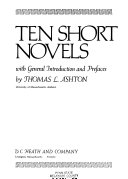 Ten Short Novels  with General Introduction and Prefaces Book