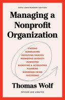 Managing a Nonprofit Organization Pdf/ePub eBook