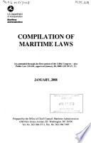 The Merchant Marine Act, 1936, the Maritime Security Act of 1996, the Shipping Act of 1984, and Related Acts