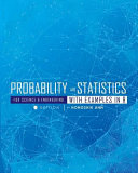 Probability And Statistics For Science And Engineering With Examples In R  First Edition