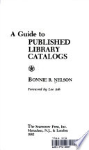 A Guide to Published Library Catalogs