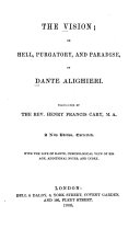 The Vision  Or  Hell  Purgatory  and Paradise