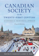 Canadian Society in the Twenty First Century  Fourth Edition