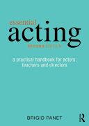 Essential Acting Book PDF