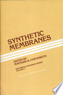 Synthetic Membranes Book PDF