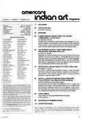 American Indian Art Magazine Book