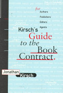 Kirsch s Guide to the Book Contract