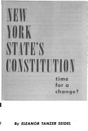 New York State s Constitution