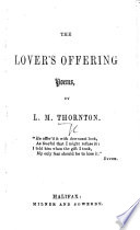The Lover s Offering  Poems Book PDF