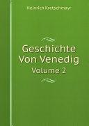 Geschichte Von Venedig Book
