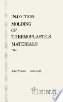 Injection Molding of Thermoplastics Materials   1