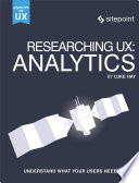 Researching UX: Analytics
