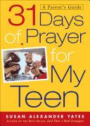 31 Days of Prayer for My Teen