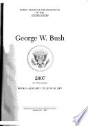 Public Papers of the Presidents of the United States, George W. Bush