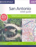 Rand Mcnally 2007 San Antonio  Texas Street Guide