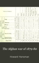 The Afghan War of 1879 80