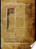 The Humanities in Architectural Design