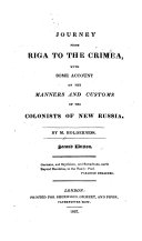 Journey from Riga to the Crimea
