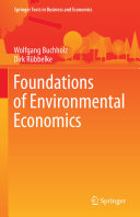 Foundations of Environmental Economics