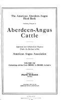 The American Aberdeen Angus Herd book