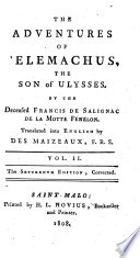 The Adventures of Telemachus  the Son of Ulysses  Translated Into English by Des Maizeaux  The Seventeenth Edition  Corrected Book