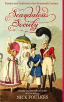 Scandalous Society