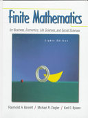 Finite Mathematics for Business  Economics  Life Sciences  and Social Sciences Book