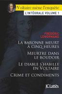 Pdf Voltaire mène l'enquête Telecharger