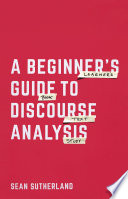 A Beginner   s Guide to Discourse Analysis