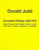 Complete Writings 1959 1975