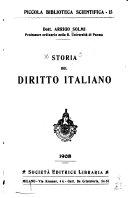 Storia del diritto italiano