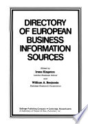 Directory of European Business Information Sources