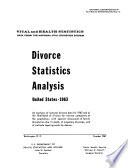 Divorce Statistics Analysis  United States  1963