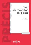 Pdf Droit de l'exécution des sanctions pénales - 6e ed. Telecharger