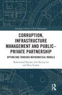 Pdf Corruption, Infrastructure Management and Public–Private Partnership Telecharger