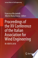 Proceedings Of The Xv Conference Of The Italian Association For Wind Engineering Book PDF