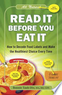 Read It Before You Eat It