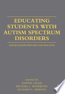 Educating Students with Autism Spectrum Disorders