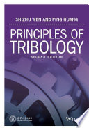 Principles of Tribology Book