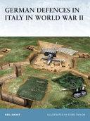 German Defences in Italy in World War II Book