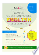 """Educart CBSE English Sample Question Papers For Class 10 (For March 2020 Exam)"" by Education Experts"