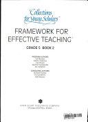 Framework for Effective Teaching - Teacher's Guide, Grade 5 Book 2