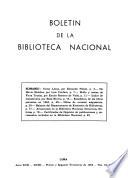 Bolet N De La Biblioteca Nacional